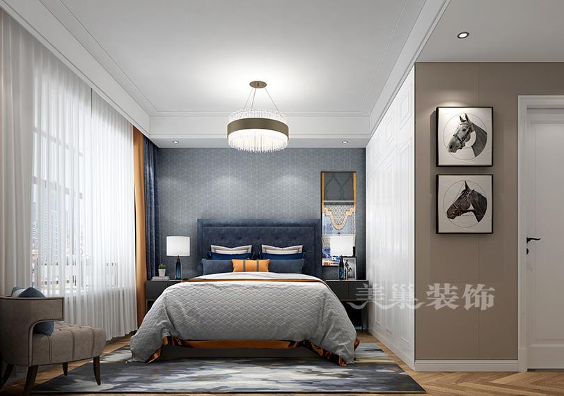 万科城四室顶层复式洋房ballbet贝博登陆案例——美式客卧计划