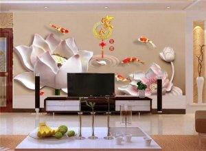 客厅如何七星彩开奖电视墙比较好 五种绝美电视墙总有