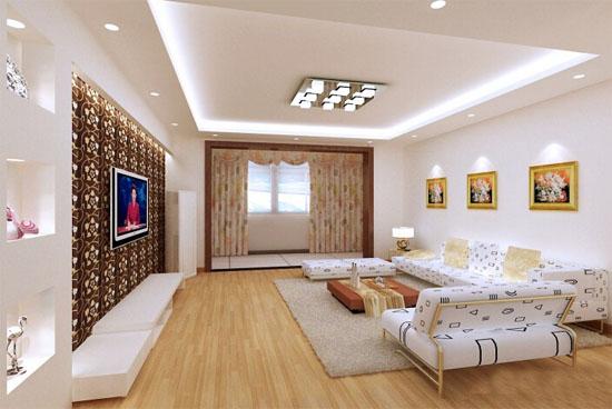 信阳140平米简欧风格客厅ballbet贝博登陆案例效果图