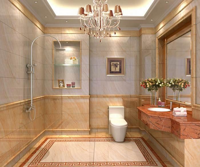 卫生间ballbet贝博登陆瓷砖选颜色敞亮